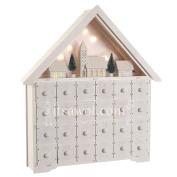 Starry Nights Wooden Advent Calendar