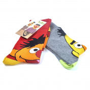 Sesame Street Y1H307 Bert and Ernie Men's Socks