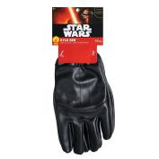 Star Wars - Kylo Ren Gloves Children Costume Accessory Black
