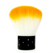 Powder Dust Flocking Remover Brush Cheek Makeup Tool Foundation Nail Art Charming Orange