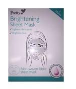 Pretty Brightening Face Sheet Mask - Pack of 2