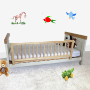 Safetots Wooden Bed Rail, Natural