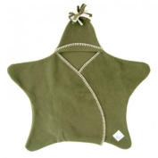 Tuppence and Crumble Star Baby Wrap Fern Size Large