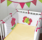 Pak of 2 Cot Bed Fitted Sheets 100% Cotton Jersey - Soft & Breathable - Multiple Colours Available