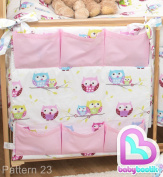 Nursery Baby Cot Tidy / Organiser 60x60 cm - Pattern 23