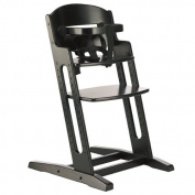 BabyDan DanChair Wooden Safety High Chair Black