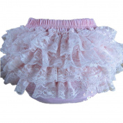 VISKEY Baby Girls Cotton Lace Ruffle Bloomer and Underwears Nappy