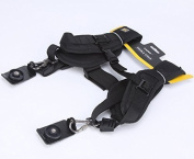 Caden Double Strap for two cameras. Photography shoulder sling