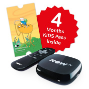 NOW TV Box with 4 Months Kids Pass
