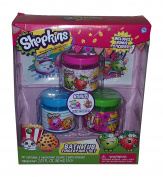 Shopkins Bath Tub Toys Finger Paint Set & Stickers Playset