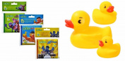 Sesame Street Bath Time Bubble Books with Rubber Duckies, 6-pc Set