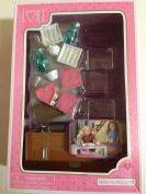 Moderna Dining Set, Our Generation for mini dolls 15cm