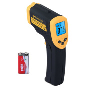 Etekcity Lasergrip 1080 Non-contact Digital Laser IR Infrared Thermometer, -50°C ~ 550°C, Rubber Paint Technology, Yellow/Black