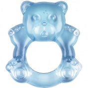 Baby Charms Teething Ring, Light Blue, Model# 11154