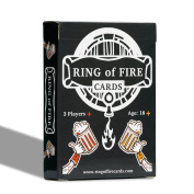 Ring of Fire Cards - the Classic Drinking Game with All the Rules on the Cards