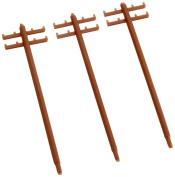N scale LA-26 utility poles (15 pieces)