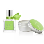 I Am Free Fragrance Rollerball 10ml & I Am Free Travel Candle Set