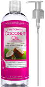 Fractionated Coconut Oil 470ml by Pure Body Naturals