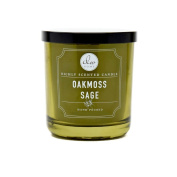 Dw Home Oakmoss Sage Richly Scented Candle Small Single Wick Hand Poured 120ml