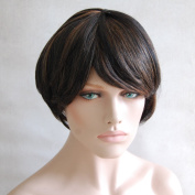 Ladella Beauty 100% Human Hair Remy Short Hair Wig , Colour Two Tone