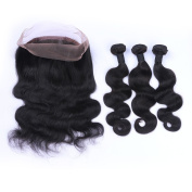 Tony Beayty Hair brazilian human hair body wave wavy 360 lace band frontal with baby hair 22.5x4x2