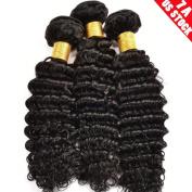 My-Lady Virgin Hair Extensions - 100% Remy Human Hair Deep Wave
