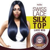 The Stylist Synthetic Lace Front Wig Swiss Lace Silk Top Swiss Goddess