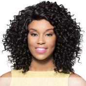SUZANNE (Foxy Lady) - Heat Resistant Fibre Lace Part Wig in PURPLE