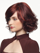 Mermaid Women Short Curly Sexy Hair Wigs Wave Bob Wig with Side Bangs Halloween Chrismas Custom Cosplay Party