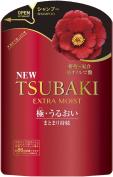 Shiseido Tsubaki Extra Moist Shampoo Refill Pack 345ml