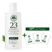 BIGGREEN 23-All Natural Shampoo,Gift With Purchase,Strengthen Thin Hair,Sensitive Scalp,Prevent Hair Loss,Gentle 100% Glucoside Cleanser
