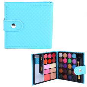PhantomSky 32 Colours Eyeshadow Palette Makeup Contouring Kit Combination with Lipgloss, Blusher and Concealer #2 - Perfect for Professional and Daily Use