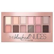Maybelline Medium Tones Eyeshadow Palette - 006 The Blushed Nudes - .10050mls