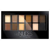 Maybelline Medium Tones Eyeshadow Palette - 20 The Nudes - .6510mls