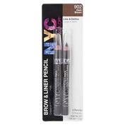 NYC Dark Tones Brow & Liner Pencils