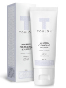 Cream Cleanser for Face; Whipped Gentle Facial Cleanser for Make Up Removal with Vitamin C, Rosehip & Lavender