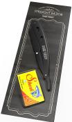 Straight Razor - Shaving Kit 20 Shark Razor Blades Single for Straight Edge Razor that break in 2 from 10 Double Edge Blades