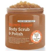 Brown Sugar Body Scrub 12.oz.