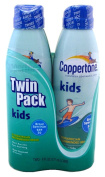 Coppertone Kids Sunscreen, Clear Continuous Spray, SPF 50, Twin Pack 2 ea