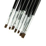 ABC® 7 in 1 Nail print pen Acrylic Nail Brush Kit Art Set UV gel brush Nail art