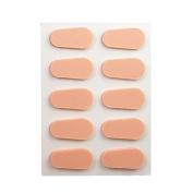 Peach Nose Pads for Eyeglasses by API
