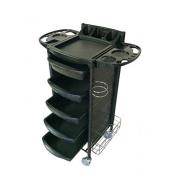 Huini Salon Rolling Trolley Storage Cart Spa Equipment Beauty Storage Station
