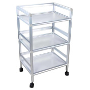 3 Tier Salon Beauty Facial Salon Supply Storage Trolley Cart