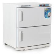 Bellavie 2-in-1 Towel Warmer & Ultraviolet Steriliser Cabinet Beauty Salon Equipment, 2 Cabinet, 32L