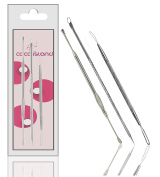 CoCo Island Comedone Extractor Tool Set Plus Ear-Pick For Blackhead, Facial Acne, And Comedones and Ear Wax Removal