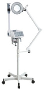 Spa Luxe 2 in 1 Facial Steamer with Magnifying Lamp Combo