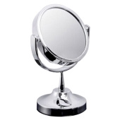 Great Deal 16cm Beauty Makeup Cosmetic Double-sided Normal Stand Mirror