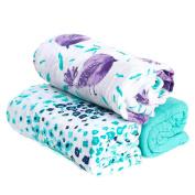 Hold Me Close™ Muslin Gauze Extra Large Swaddle Blanket Set, Birdie, 3 pack