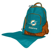 Lil Fan NFL Nappy Backpack Collection, Miami Dolphins