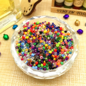 1000 PCs Mixed Round Czech Glass Seed Loose Spacer Beads Jewellery Making DIY 2 mm